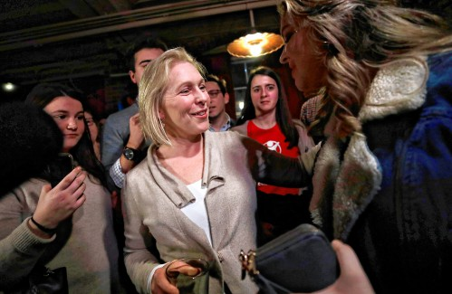 2020 Democratic contender Gillibrand starts 3-day N.H. trip in Concord