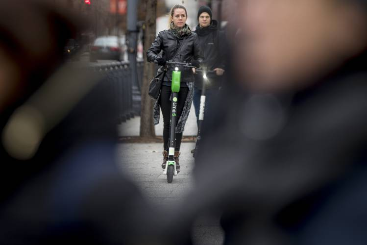 Electric scooters are taking over American cities