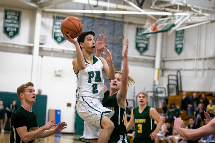 Johnson scores 22 as Bishop Brady routs Pembroke 72-47 in season opener