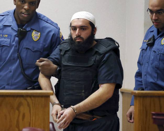 Bomber sentenced to life in prison for New York, New Jersey attacks