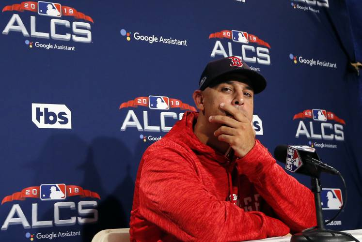 Cora returns to the ALCS, this time as manager of the Red Sox