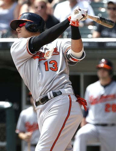 Orioles' Machado hits three home runs in win over White Sox