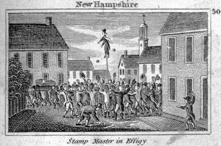 Granite State Stories Portsmouth Protests The Stamp Act
