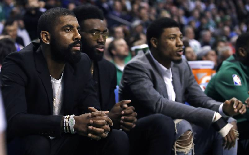 953756cf9dfd Celtics  Kyrie Irving out 3-6 weeks after knee surgery