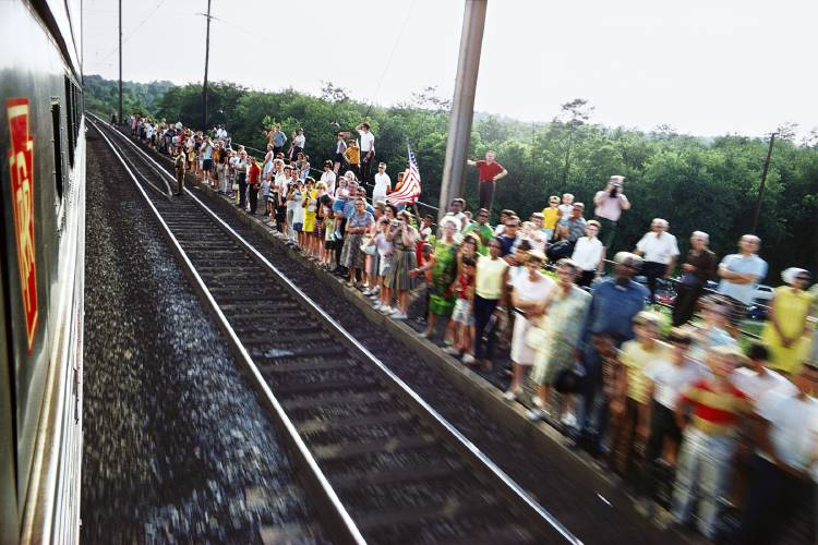 'RFK Funeral Train' show: Kennedy's final journey in photos