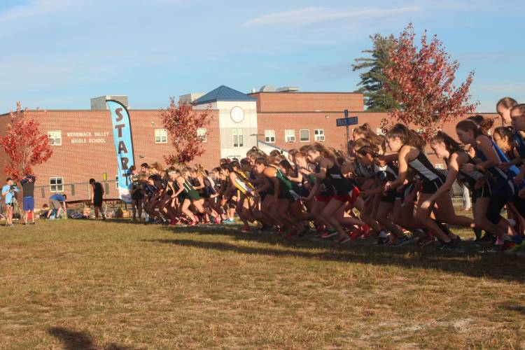 High Schools: Record-breaking run highlights Concord sweep of Capital Area Cross Country Championship