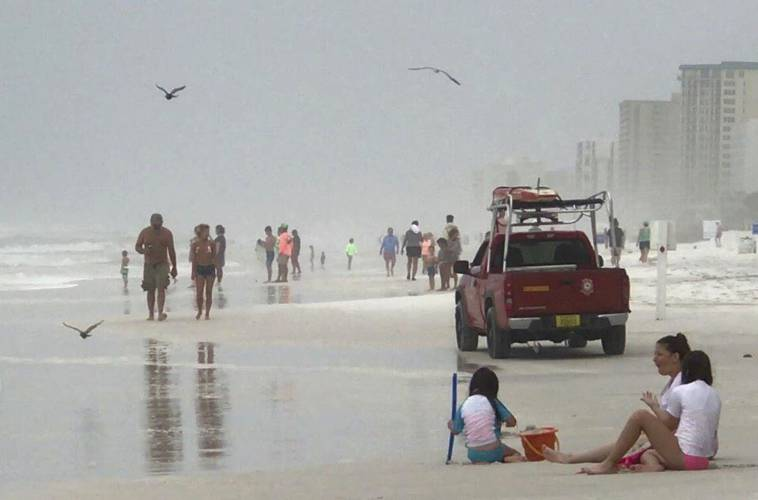 Tropical Storm Cindy Makes Landfall