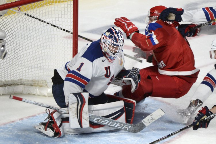 U.S. tops Russia in shootout in world junior hockey semifinal