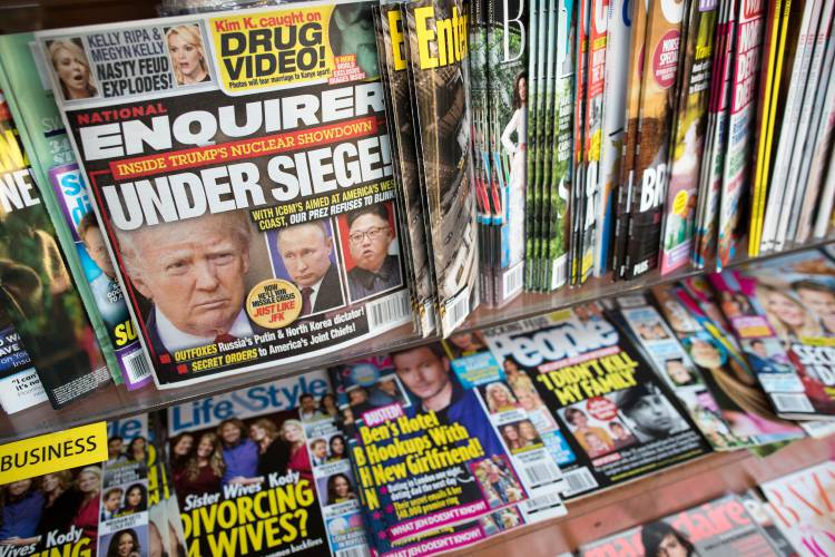 Ex-Playboy model settles lawsuit over alleged Trump affair