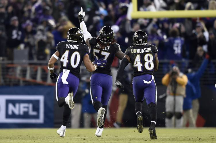97f6ccd6 Playoff picture: Ravens win AFC North, Eagles get NFC wild card