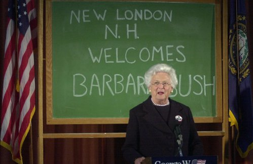 N.H. friends say Barbara Bush 'had an extraordinary life'