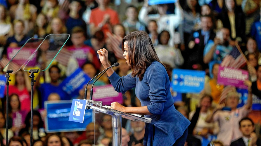 Washington Post: Michelle Obama's New Hampshire speech was a master ...