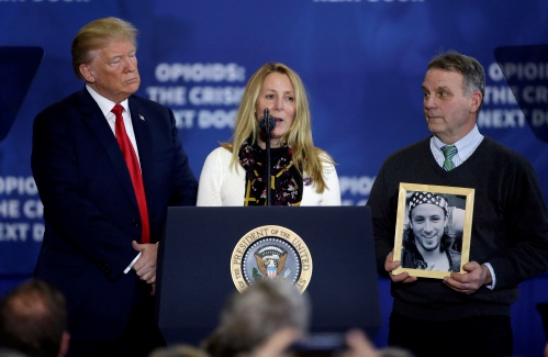 Update: N.H. visit highlights Trump's tough talk, search for solutions in drug crisis