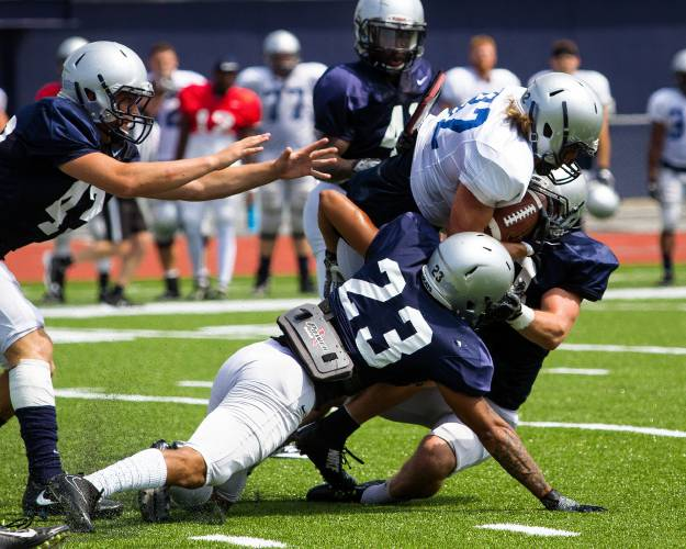 Offense Shows Growth In Unh Football Scrimmage