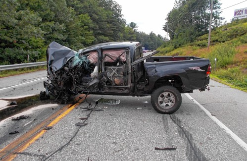 Toyota Pay Bill >> Concord teen survives head-on collision with Mack truck on ...