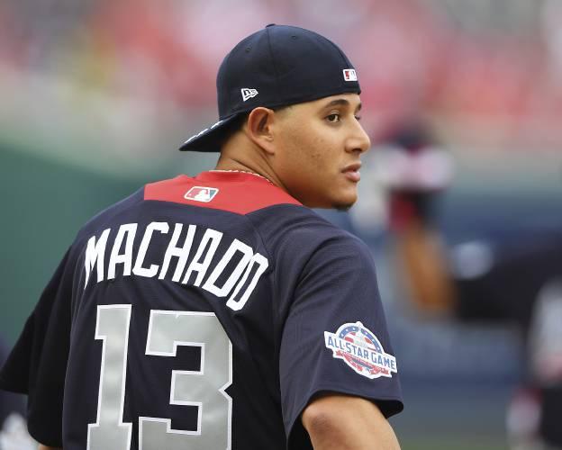 wholesale dealer 68bd5 9a0d1 Dodgers land All-Star shortstop Manny Machado from Orioles