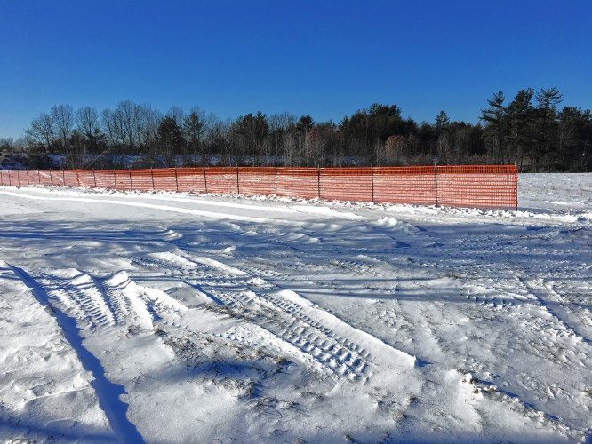 Snow Drift Granite : Granite geek snow fences more complicated than you think