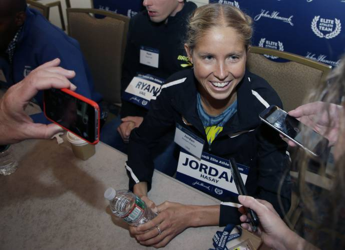 Desi Linden becomes first American woman to win Boston Marathon since 1985