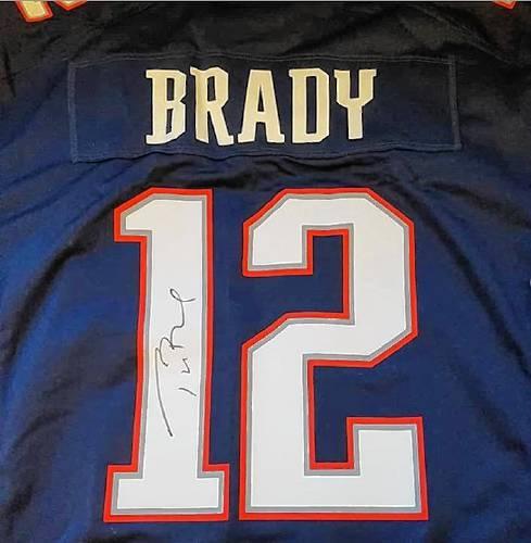 Pope Memorial SPCA to raffle off autographed Tom Brady jersey