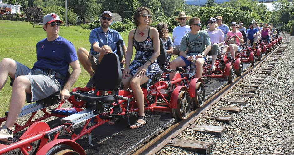 Riding the rails: Touring Rhode Island on a rail bike
