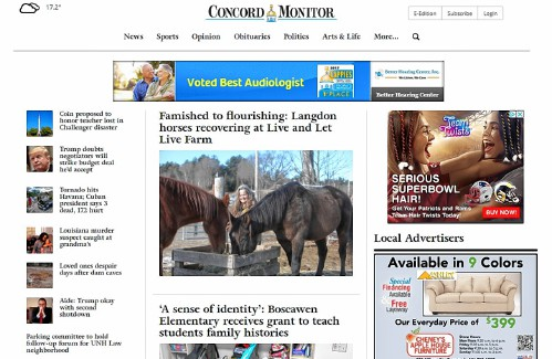 Monitor' launches website redesign