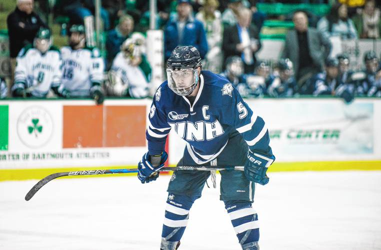 Hockey East: UNH Hockey Notebook - Senior Leaders Tested Through Four-game Slide