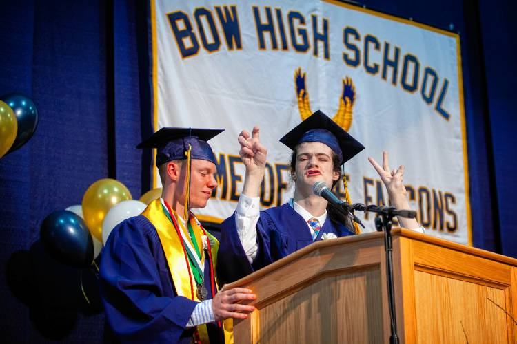 at bow high  graduates reminded kindness doesn u2019t go unnoticed