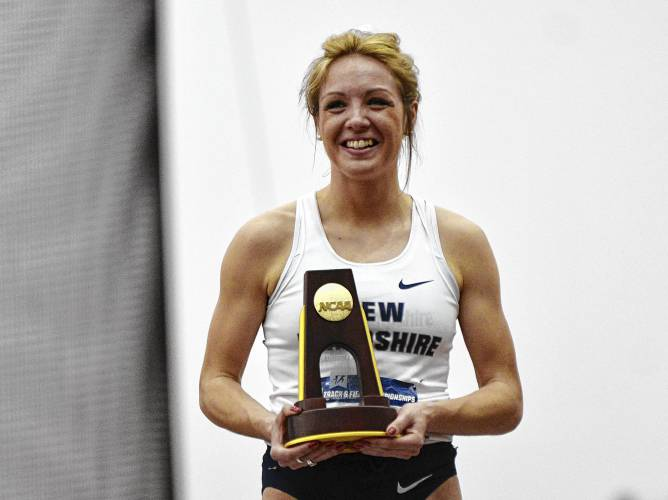 Elinor Purrier Unh S Most Decorated Athlete Begins Her