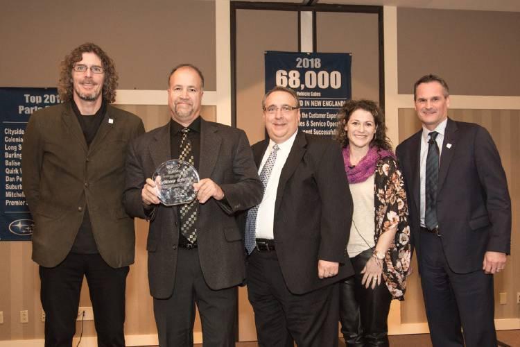Subaru Of New England >> Belknap Subaru Awarded Dealership Of The Year