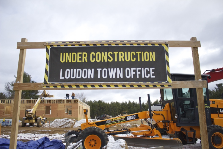Loudon Gets Long Awaited Town Office Project Underway