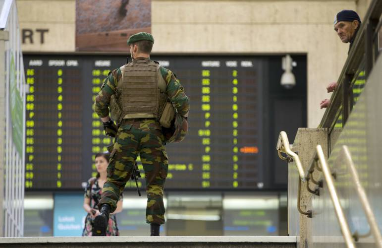 Belgium tightens security after failed Brussels bombing