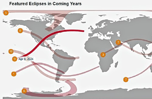 It's T-minus-three and counting for our solar eclipse (three years, that is)