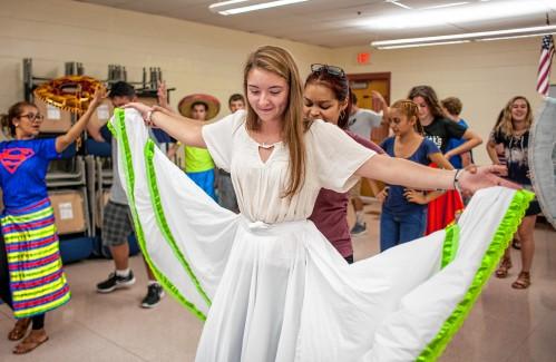 PHOTOS:Nicaraguan dance troupe visits students at John Stark