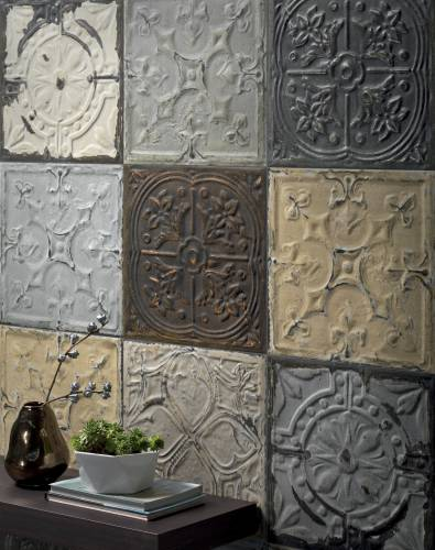 Fashion-forward tile for walls and floors