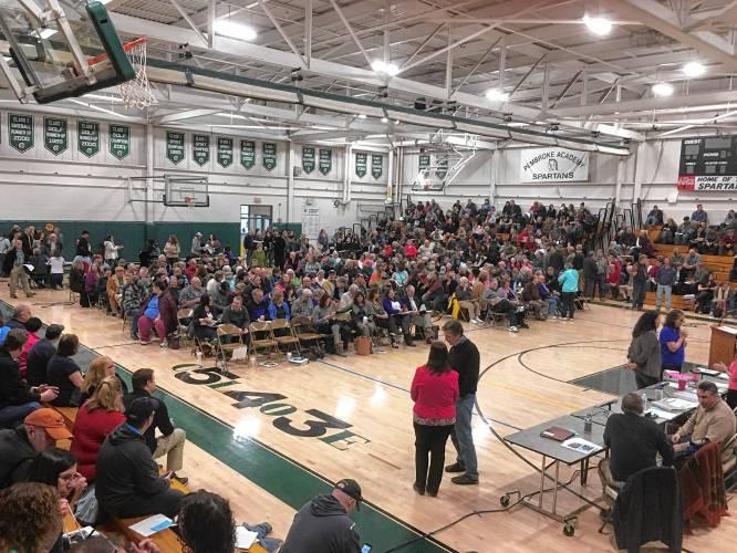 Pembroke voters side with school board on $25.3M budget