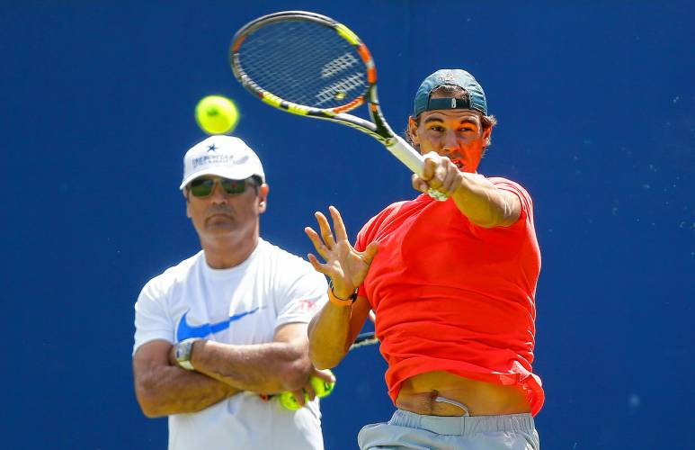 Rafael Nadal storms into quarter-final