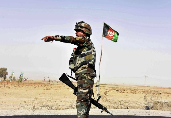 Taliban storm army base with suicide car bombs, killing 43 Afghan soldiers