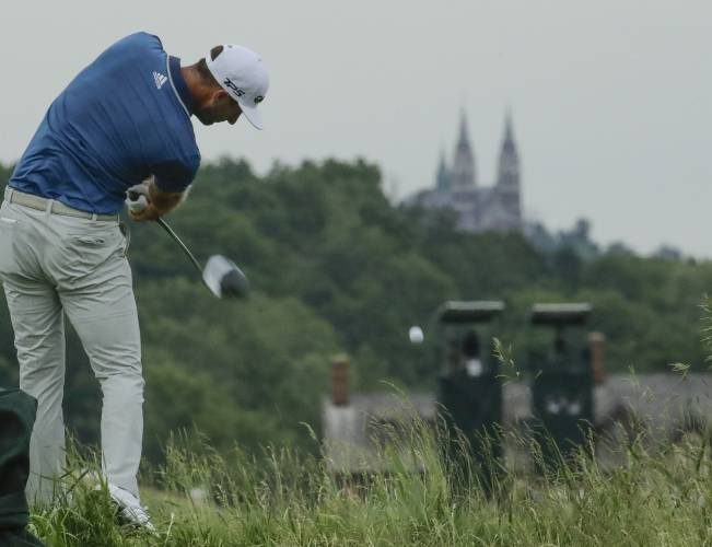 Justin Thomas shoots first 9-under round in US Open history