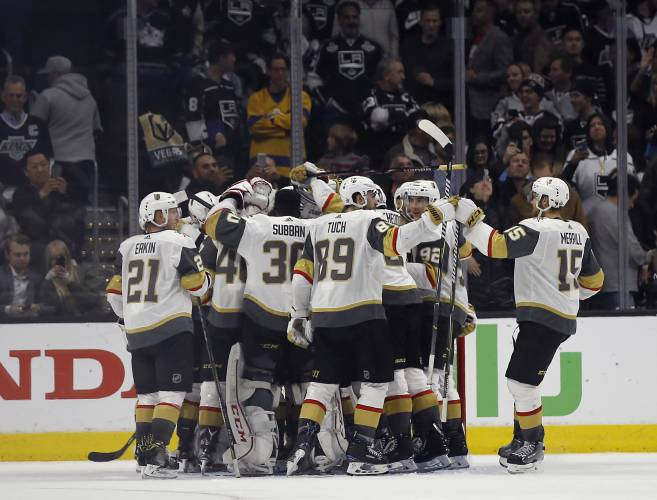 Golden Knights playing with house money after playoff sweep