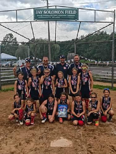 Cap Area 8U All Stars win Babe Ruth Softball Regional Tournament