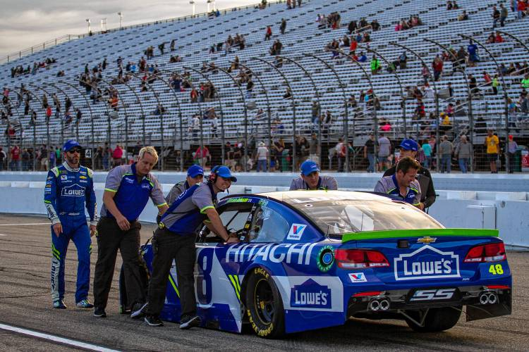 Hendrick Motorsports Turns As Nascar Does To A Younger
