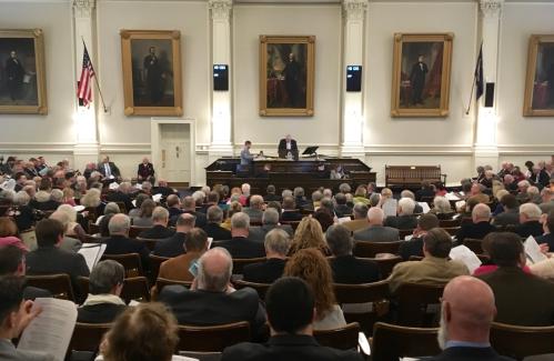 N.H. lawmakers debate banning, allowing guns in schools