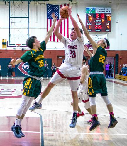 High Schools Concord Boys Basketball Lacks Hunger Offense In Loss To Bishop Guertin