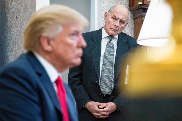'When you lose that power': How John Kelly faded as White House disciplinarian