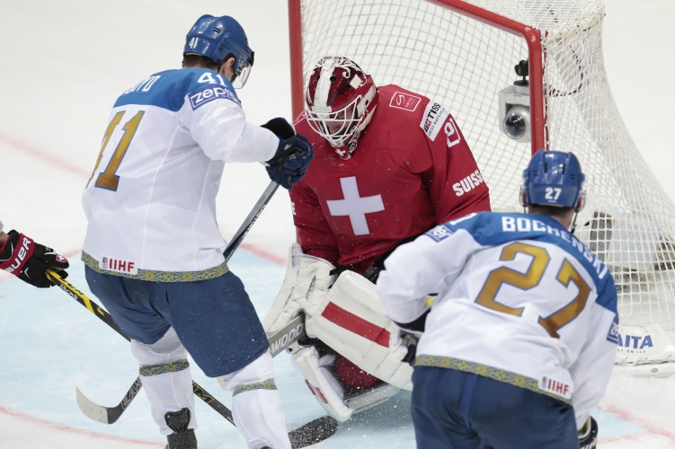 U S  doubles up Belarus, 6-3, at hockey worlds