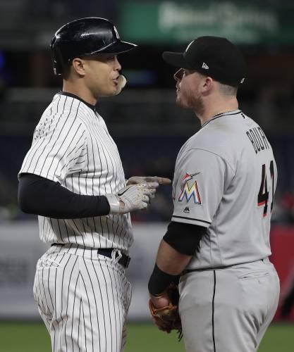 Judge, Gregorius homer as Yankees manhandle Marlins