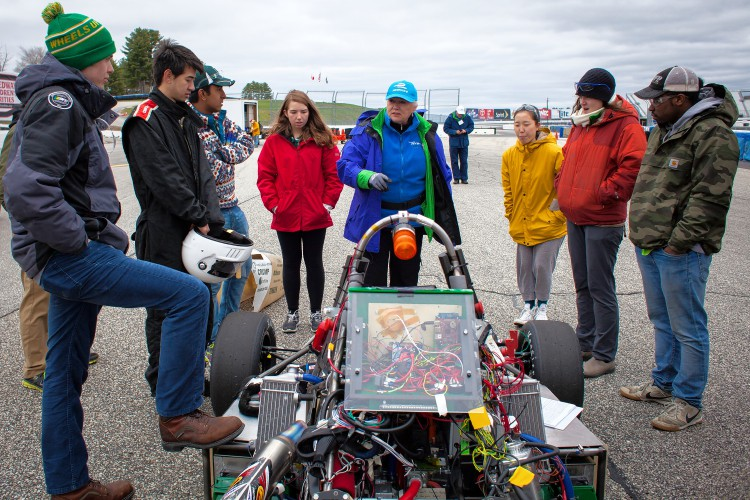 Engineering Contest At The Speedway Shows That Hybrid