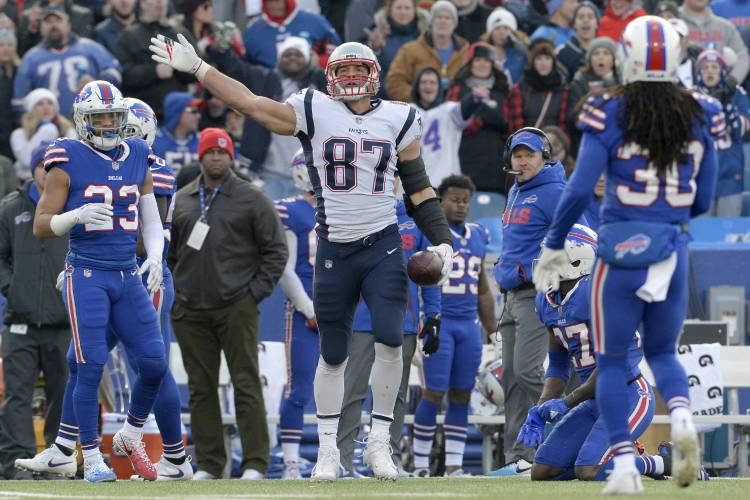 Gronk's home burglarized, safes and guns may have been stolen