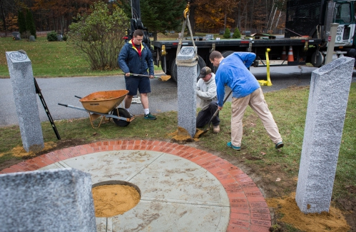 Bow Student Honors Veterans With Eagle Scout Project