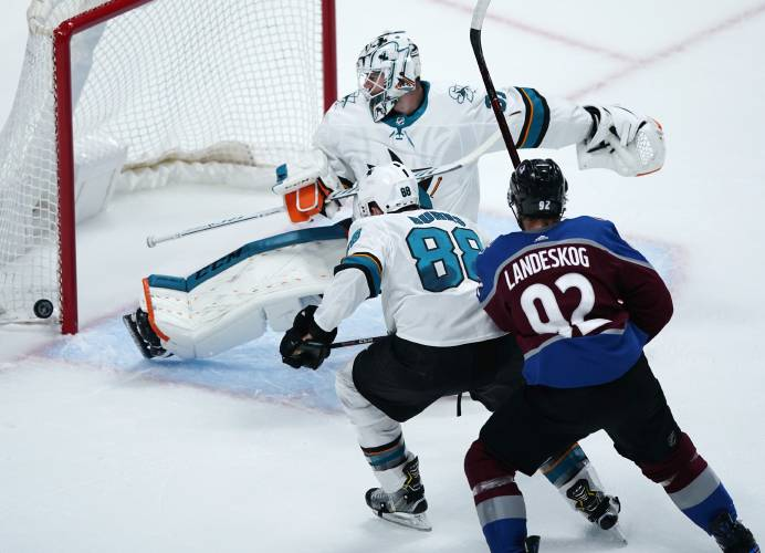 Goalies Helped Spark Turnarounds For Blues Sharks